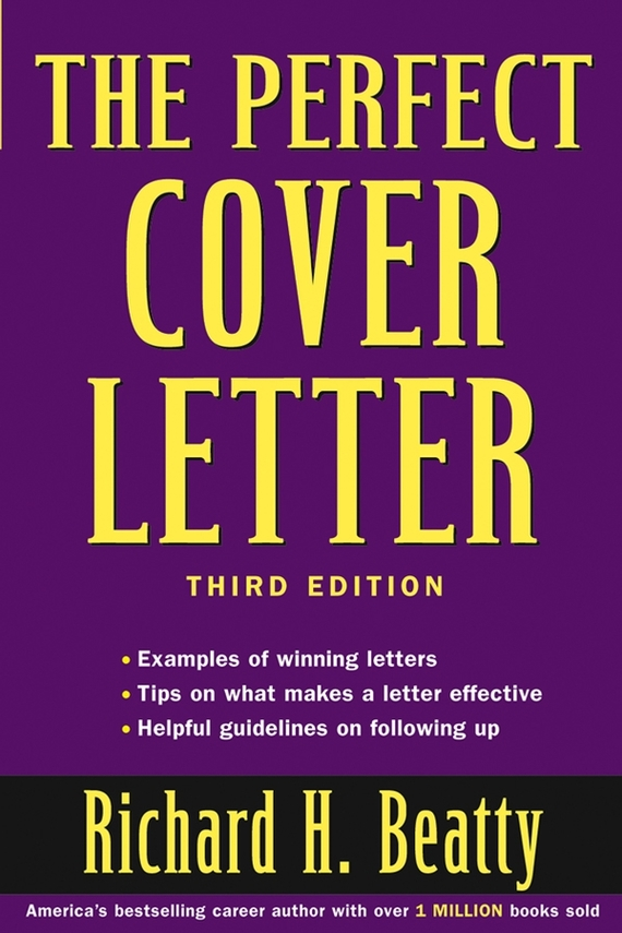 Richard Beatty H. The Perfect Cover Letter ISBN: 9780471481416 violeta by mango women s lapel knit jacket