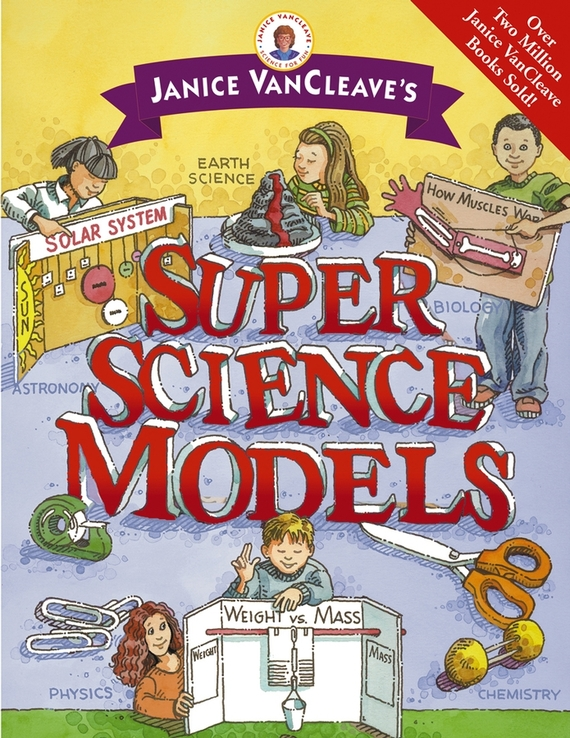 Janice VanCleave Janice VanCleave's Super Science Models ed dh109 soft gum 28pcs teeth standard jaw model medical science educational dental teaching models