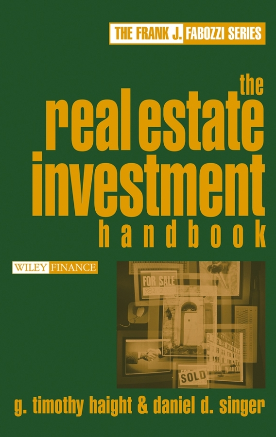 Daniel Singer D. The Real Estate Investment Handbook real estate broker 500g