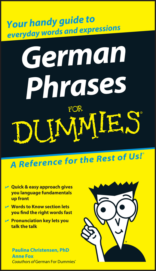 Anne Fox German Phrases For Dummies oudiniao sports and leisure shoes