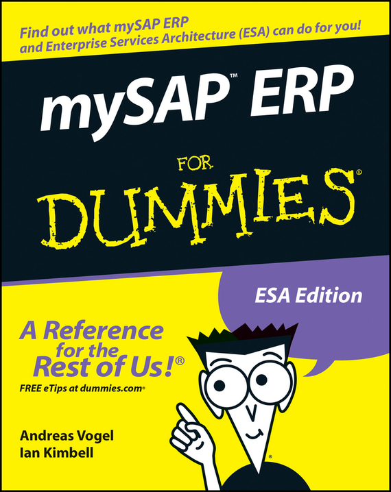 Andreas  Vogel. mySAP ERP For Dummies