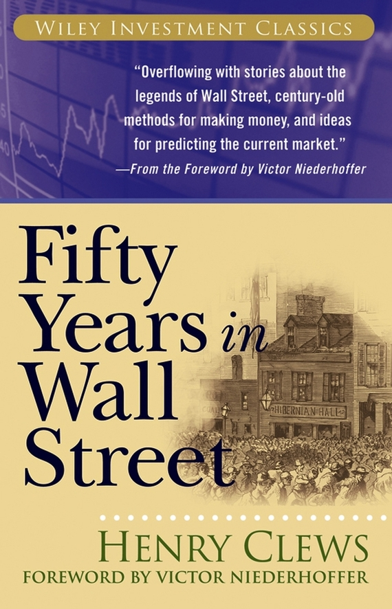 Victor Niederhoffer Fifty Years in Wall Street