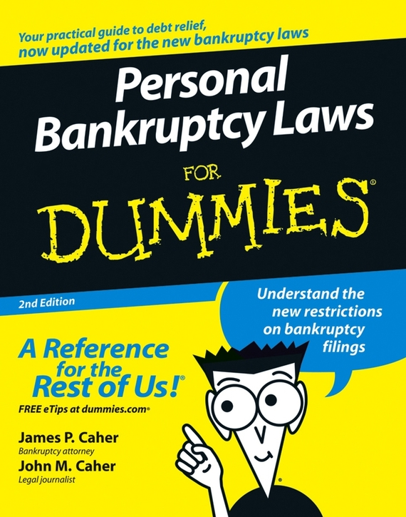 James Caher P. Personal Bankruptcy Laws For Dummies james mason asperger s syndrome for dummies