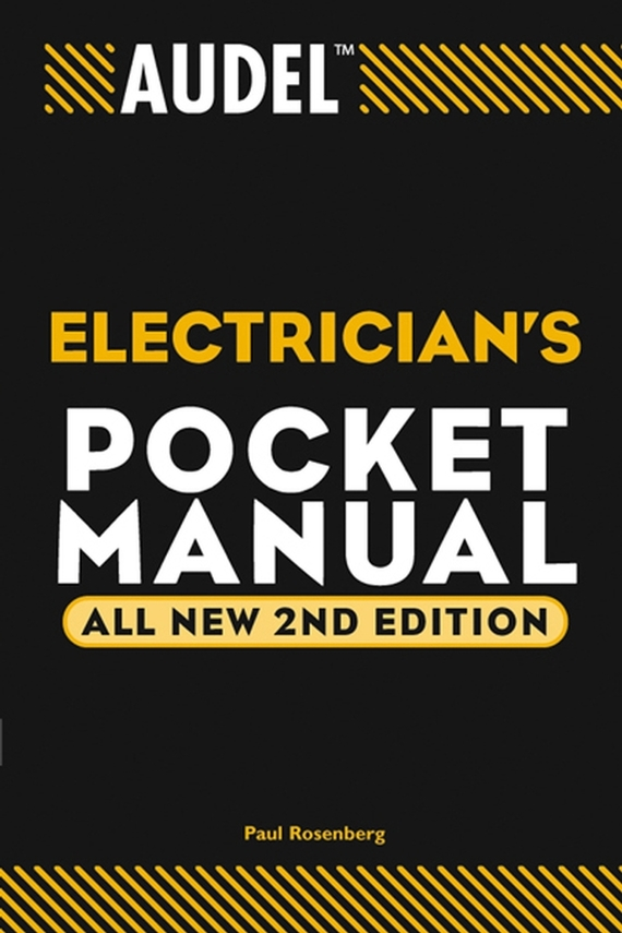 Paul Rosenberg Audel Electrician's Pocket Manual 5mm inner dia electrical wire cable rubber wiring grommet white 200pcs