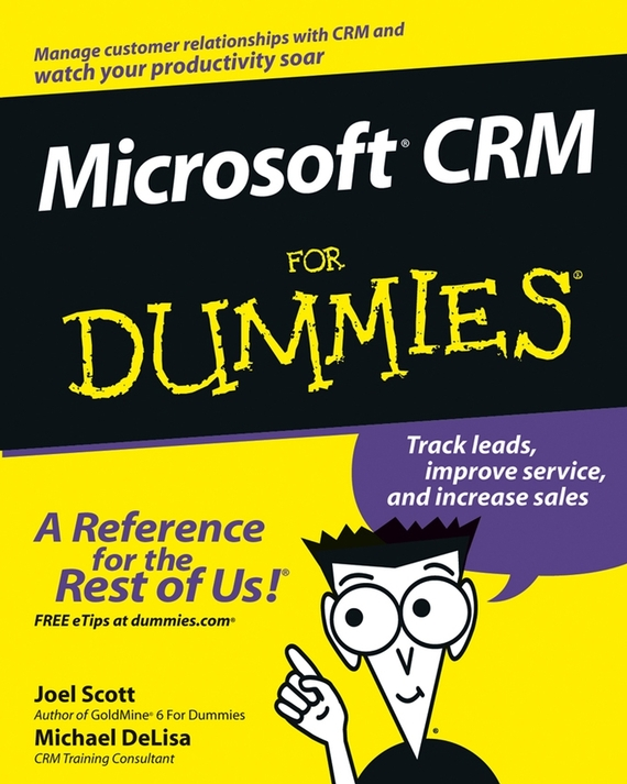 Joel Scott Microsoft CRM For Dummies relationship perspectives on customer support service