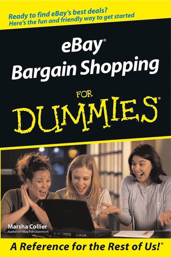 Marsha  Collier eBay Bargain Shopping For Dummies marsha collier ebay co uk for dummies