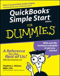 Stephen L. Nelson - QuickBooks Simple Start For Dummies