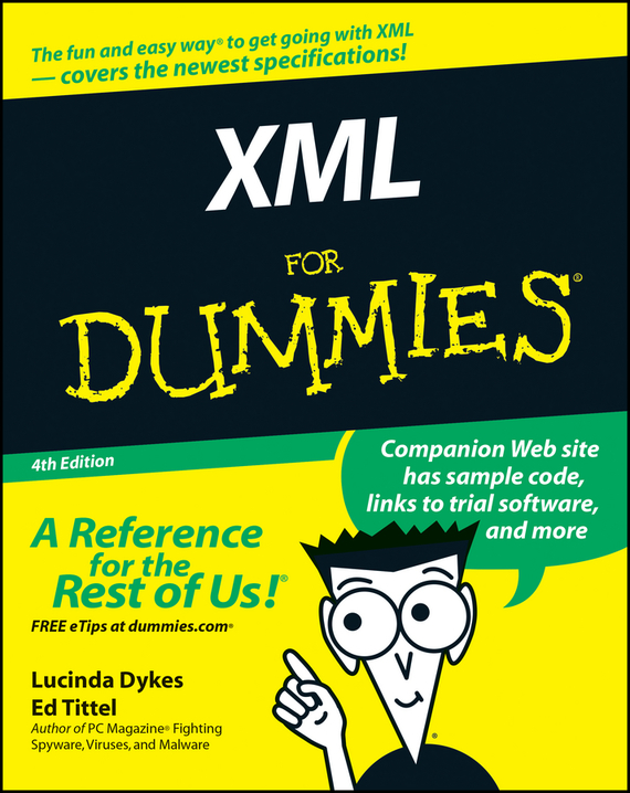 Ed Tittel XML For Dummies ISBN: 9780764599682 sitemap xml