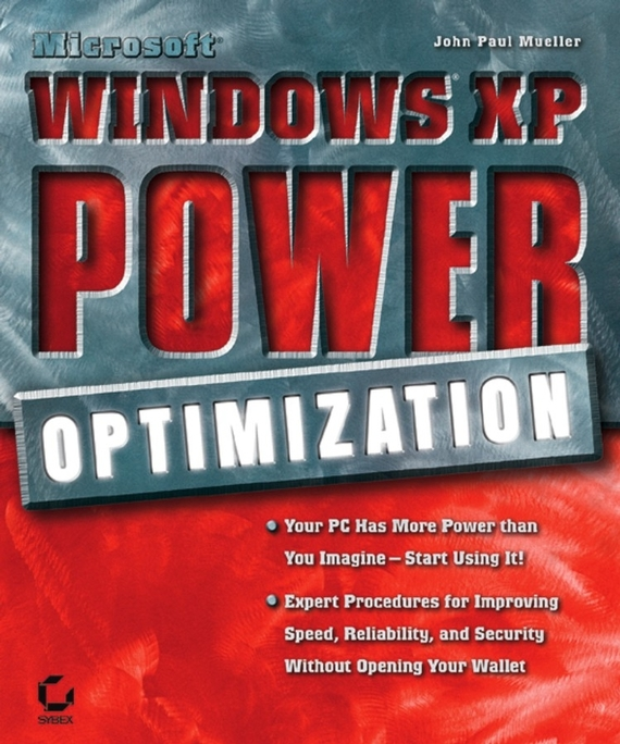 John Mueller Paul Microsoft Windows XP Power Optimization john paul mueller aws for admins for dummies