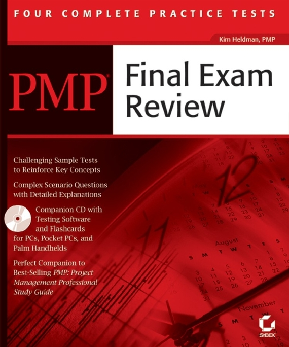 Kim  Heldman PMP Final Exam Review kim heldman pmp project management professional exam review guide