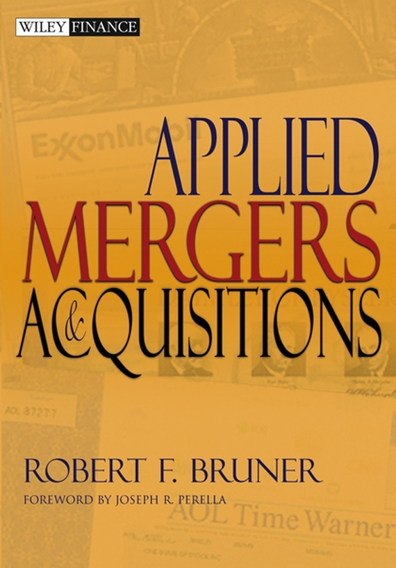 Robert F. Bruner Applied Mergers and Acquisitions mergers