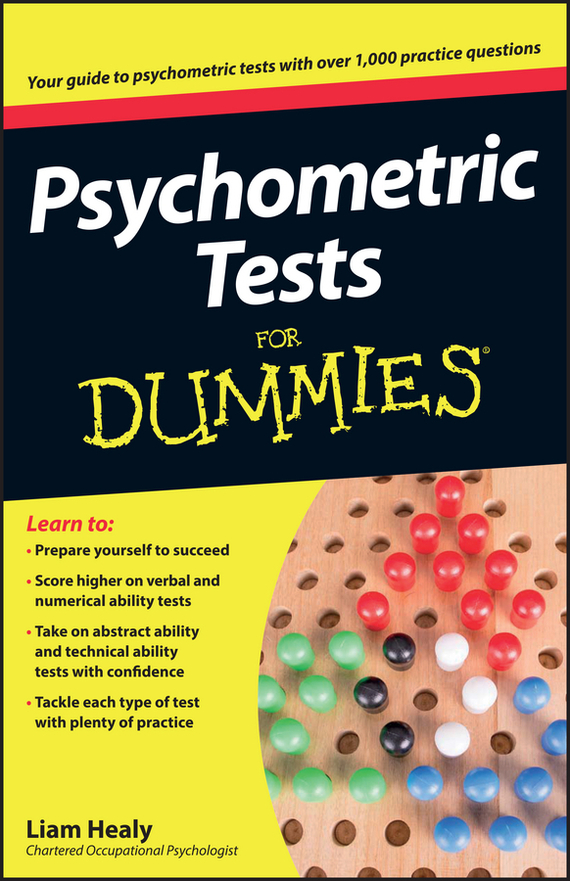 Liam Healy Psychometric Tests For Dummies the imactm for dummies®