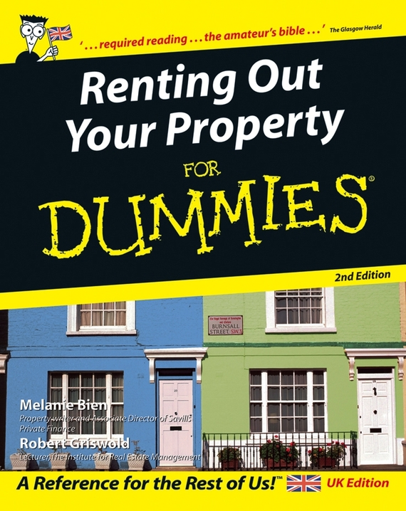 Melanie  Bien Renting Out Your Property For Dummies tony levene investing for dummies uk