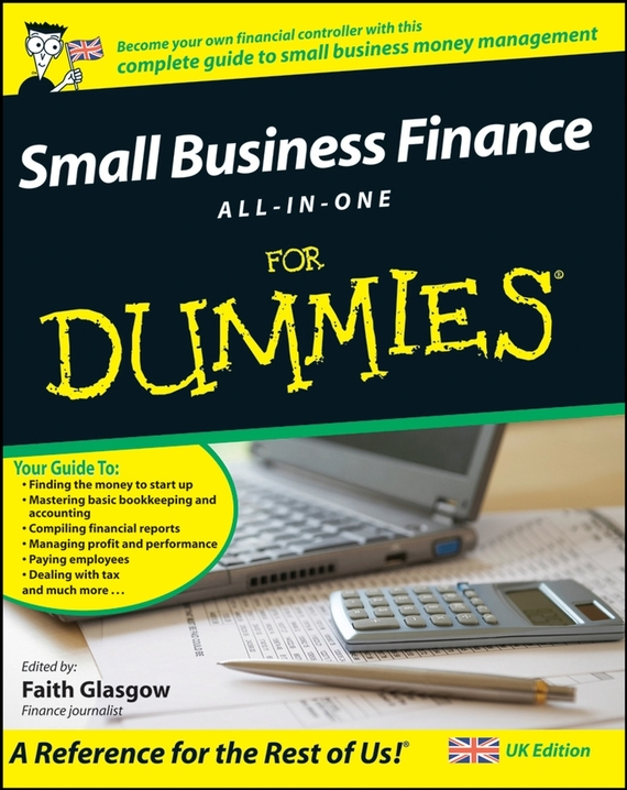 Faith  Glasgow Small Business Finance All-in-One For Dummies tony martin personal finance for canadians for dummies