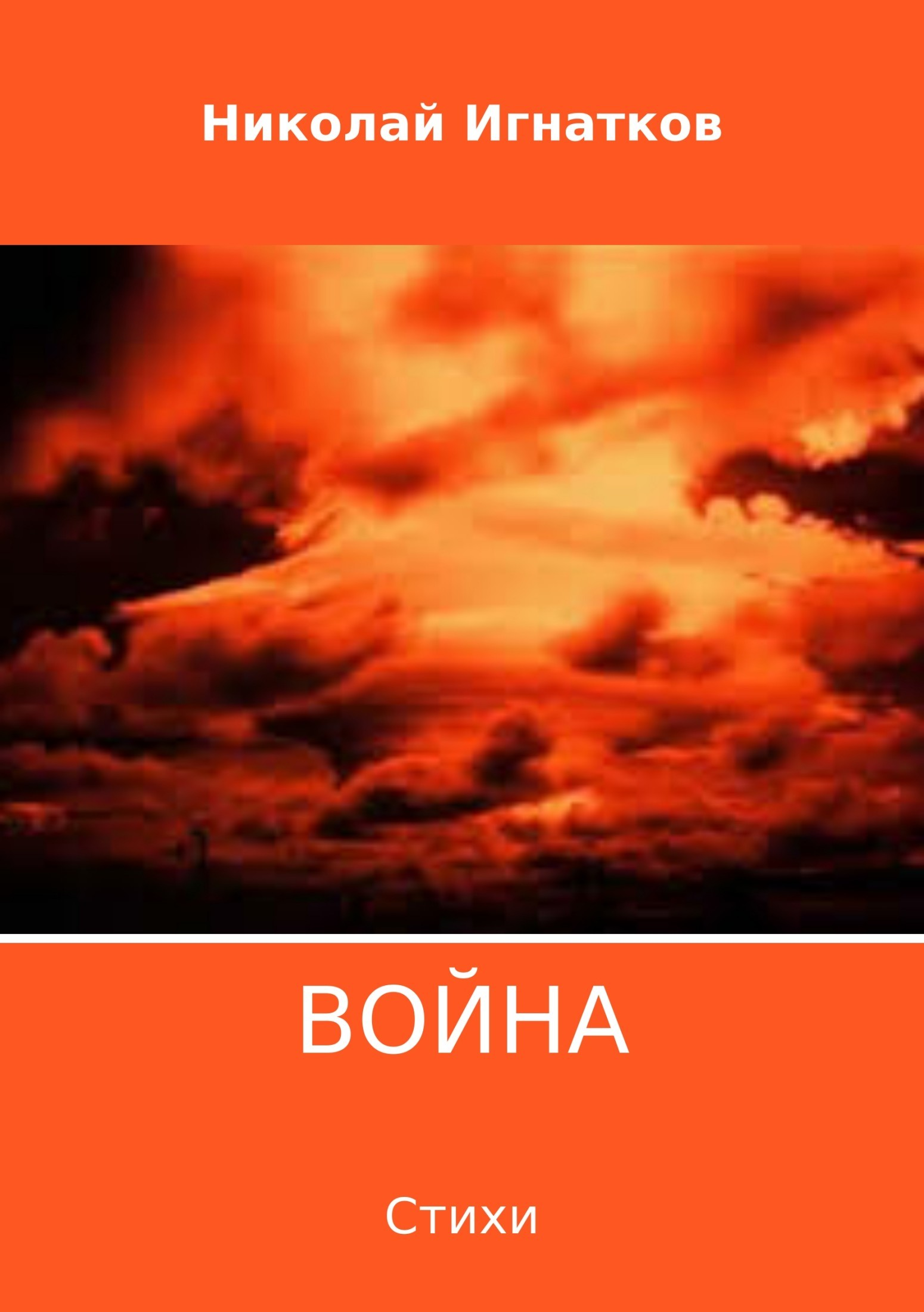 Николай Викторович Игнатков Война. Сборник стихотворений пронько в война окончилась война продолжается…