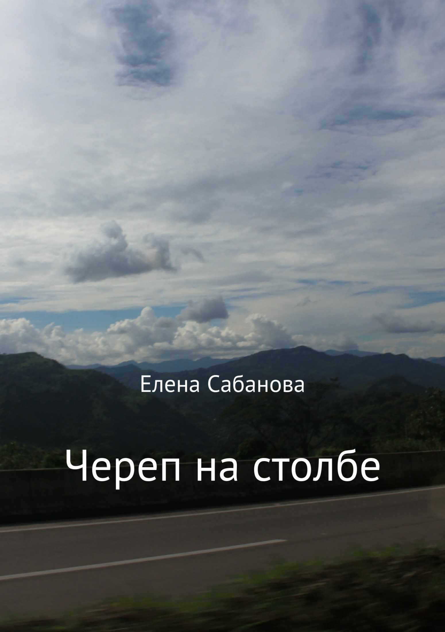 Елена Владимировна Сабанова. Череп на столбе