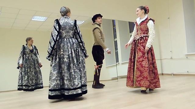 Дмитрий Goblin Пучков Танцмейстер Алексей про Пушкинскую Студию Старинного Танца