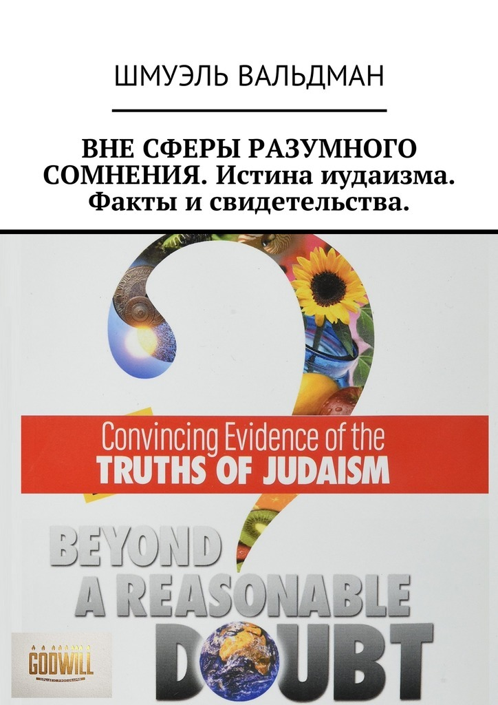 Шмуэль Вальдман - ВНЕ СФЕРЫ РАЗУМНОГО СОМНЕНИЯ. Истина иудаизма. Факты и свидетельства