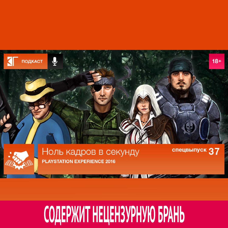 Михаил Судаков Спецвыпуск 37: PlayStation Experience 2016 михаил нестеров