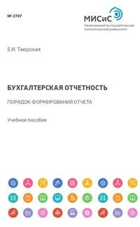 Евгения Таюрская - Бухгалтерская отчетность. Порядок формирования отчета об изменениях капитала