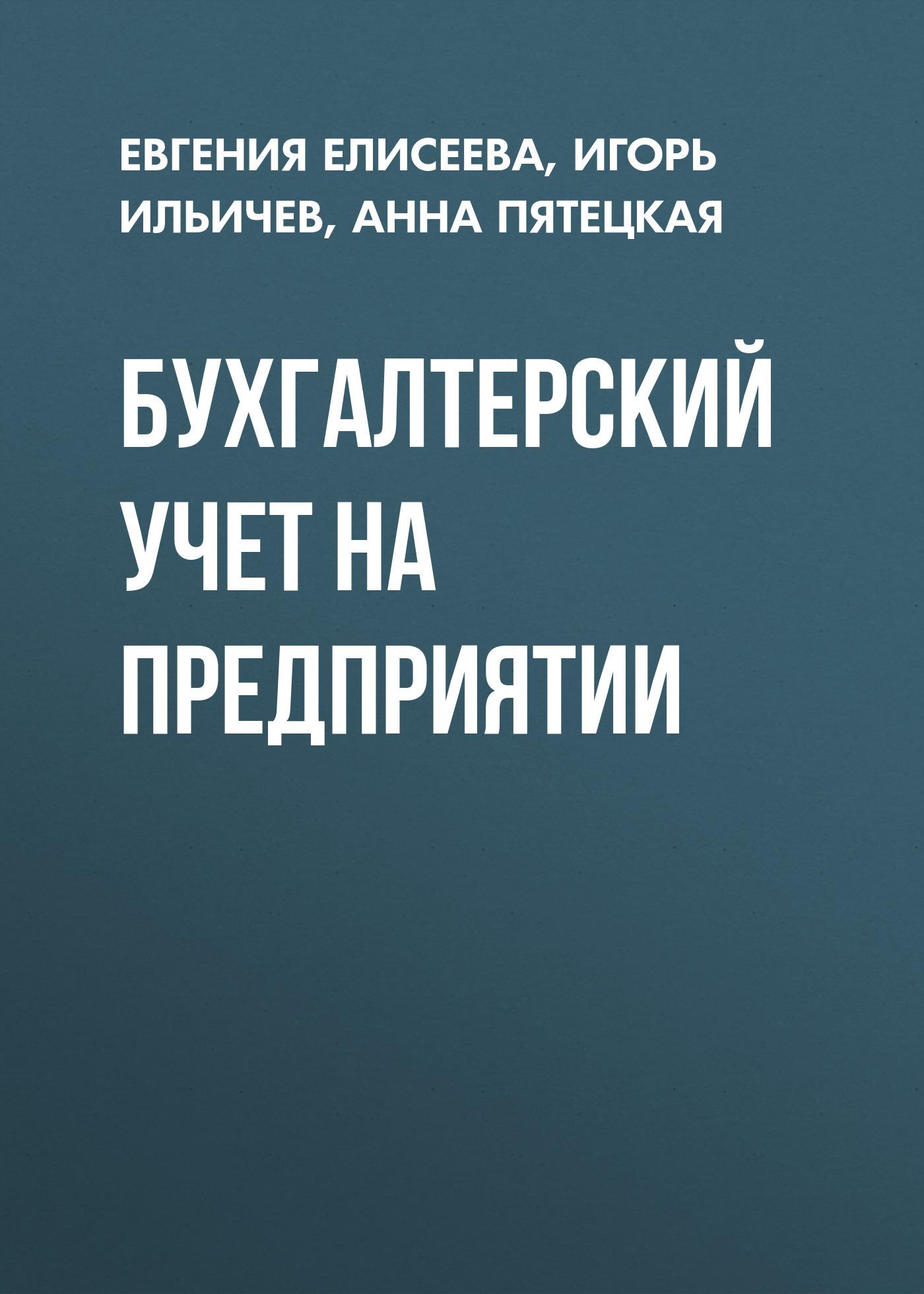 Евгения Елисеева Бухгалтерский учет на предприятии научно учебная литература