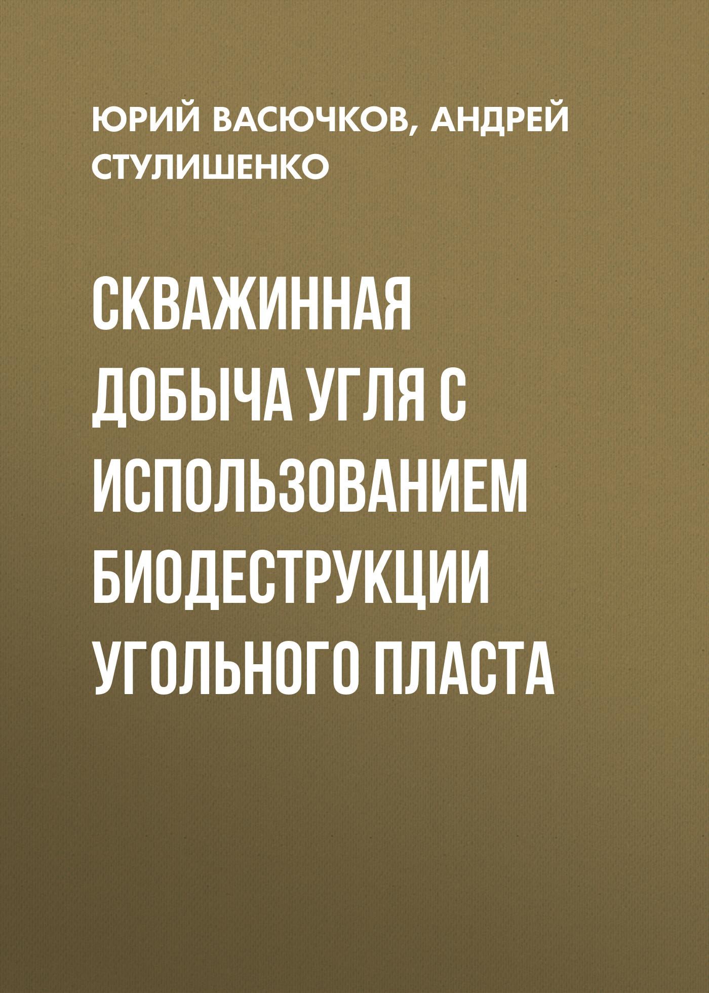 Андрей Стулишенко. Скважинная добыча угля с использованием биодеструкции угольного пласта