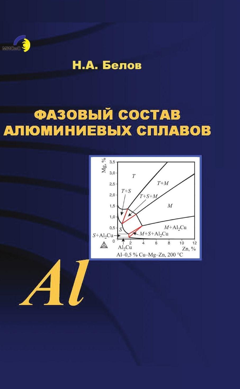 Николай Белов Фазовый состав алюминиевых сплавов николай белов фазовый состав алюминиевых сплавов
