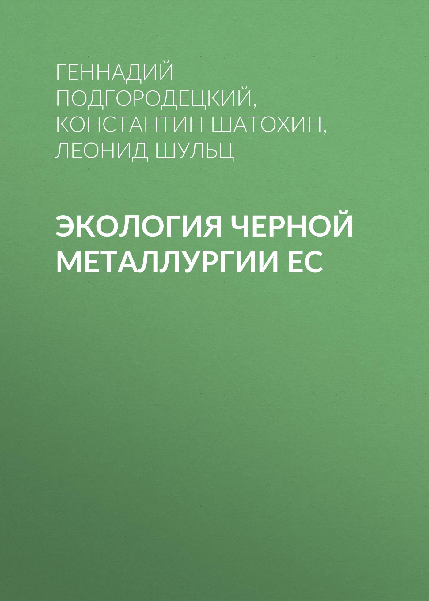 Константин Шатохин Экология черной металлургии ЕС