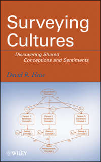 David Heise R. - Surveying Cultures. Discovering Shared Conceptions and Sentiments