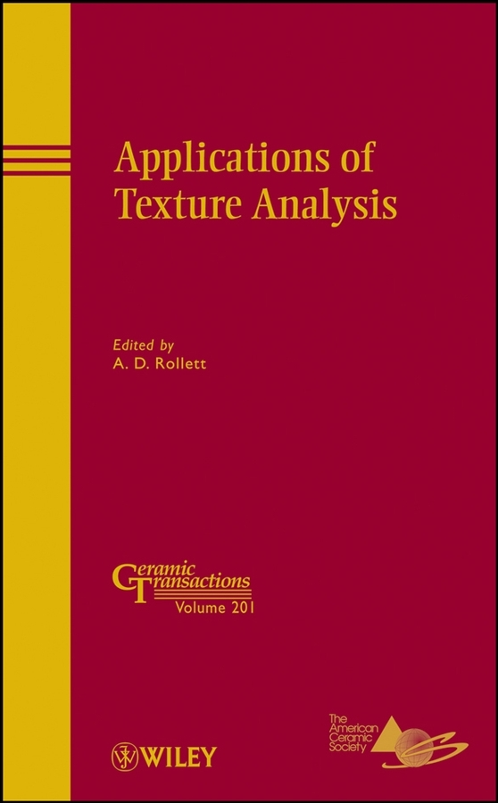 A. D. Rollett Applications of Texture Analysis b p r d hell on earth volume 10 the devils wings