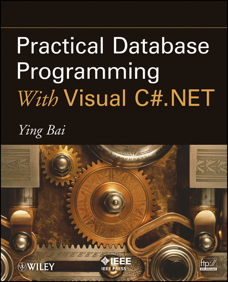 Ying Bai Practical Database Programming With Visual C#.NET clustering information entities based on statistical methods