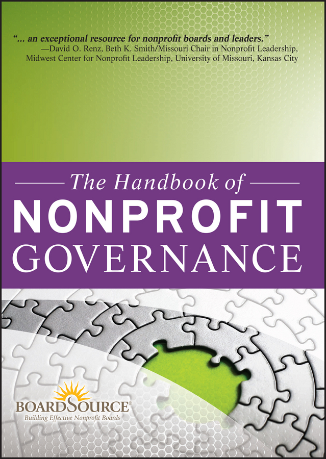 BoardSource The Handbook of Nonprofit Governance corporate governance and firm value
