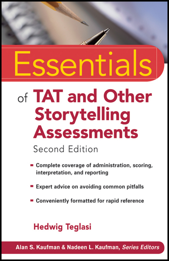 Hedwig Teglasi Essentials of TAT and Other Storytelling Assessments