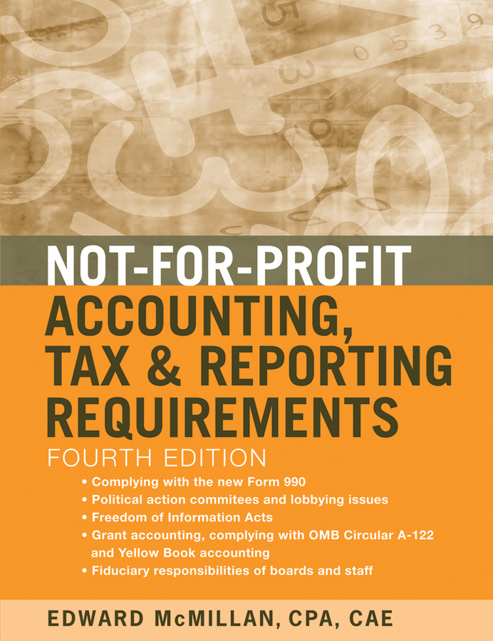 Edward McMillan J. Not-for-Profit Accounting, Tax, and Reporting Requirements j k institute lasser j k lasser s your income tax 2002