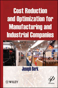 Joseph  Berk - Cost Reduction and Optimization for Manufacturing and Industrial Companies