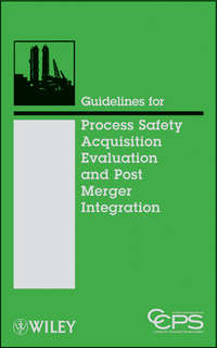 CCPS (Center for Chemical Process Safety) - Guidelines for Process Safety Acquisition Evaluation and Post Merger Integration