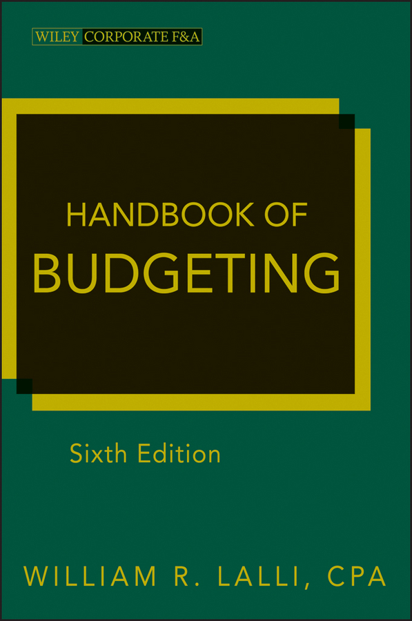William Lalli R. Handbook of Budgeting william hogarth aestheticism in art