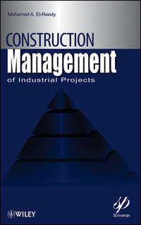 Mohamed El-Reedy A. - Construction Management for Industrial Projects. A Modular Guide for Project Managers