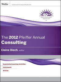 Elaine  Biech - The 2012 Pfeiffer Annual. Consulting