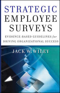 Jack  Wiley - Strategic Employee Surveys. Evidence-based Guidelines for Driving Organizational Success