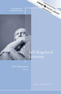 Hefer  Bembenutty - Self-Regulated Learning. New Directions for Teaching and Learning, Number 126