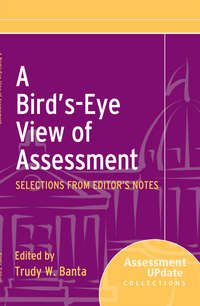 Trudy Banta W. - A Bird's-Eye View of Assessment. Selections from Editor's Notes