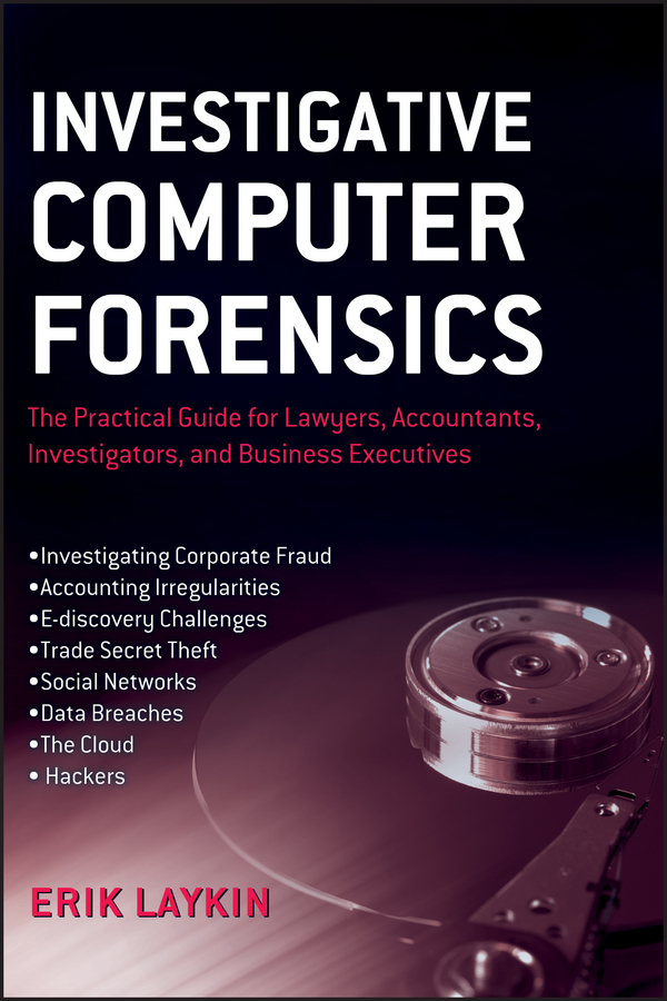 Erik Laykin Investigative Computer Forensics. The Practical Guide for Lawyers, Accountants, Investigators, and Business Executives