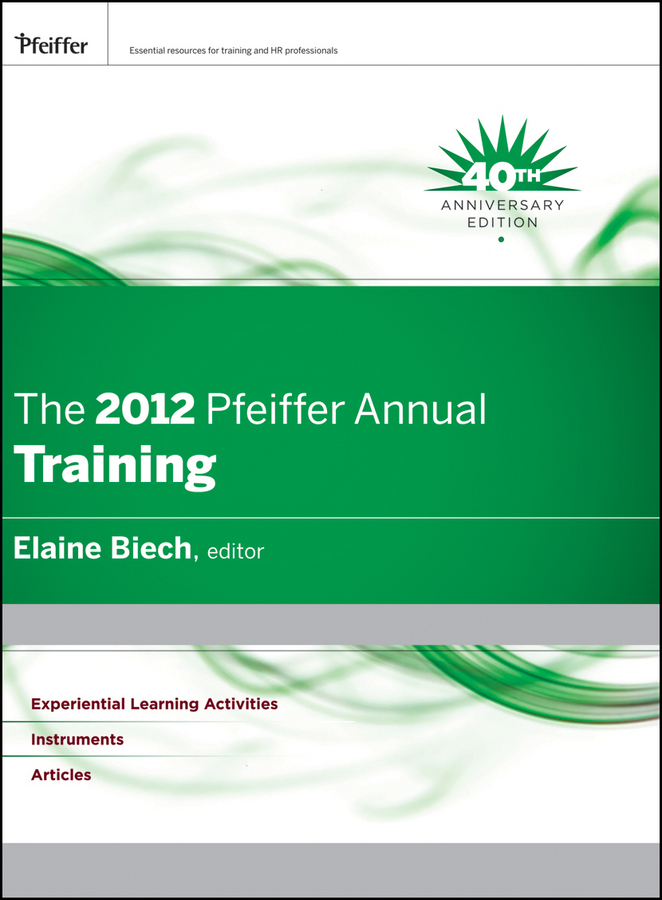 Elaine  Biech The 2012 Pfeiffer Annual. Training performance evaluation of a vanet in a realistic scenario