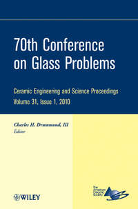 Charles H. Drummond, III - 70th Conference on Glass Problems
