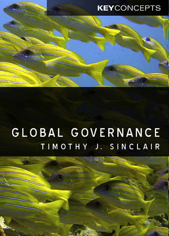 Timothy  Sinclair Global Governance jorg knieling climate adaptation governance in cities and regions theoretical fundamentals and practical evidence