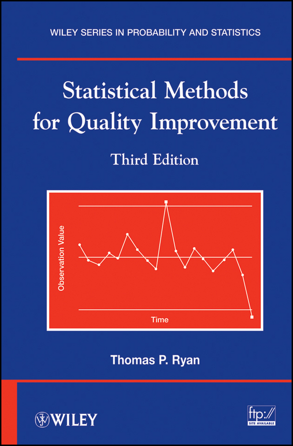 Thomas Ryan P. Statistical Methods for Quality Improvement