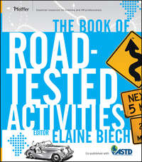 Elaine  Biech - The Book of Road-Tested Activities