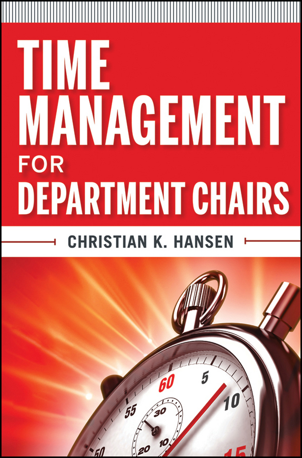Фото Christian Hansen K. Time Management for Department Chairs