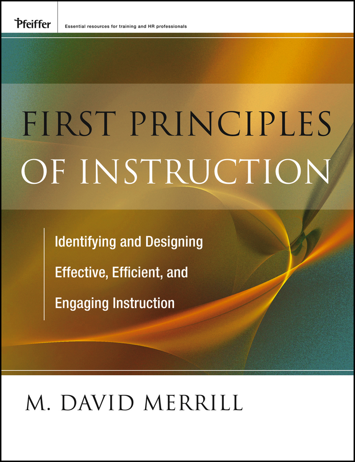 M. Merrill David First Principles of Instruction general principles of agronomy